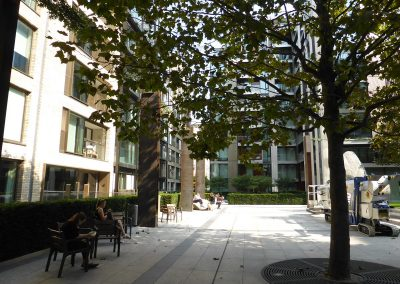 Лондон, новый жилой комплекс в районе Фитцровия