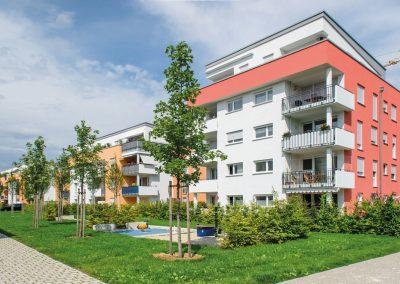 Мюнхен, жилой квартал Бригерпарк